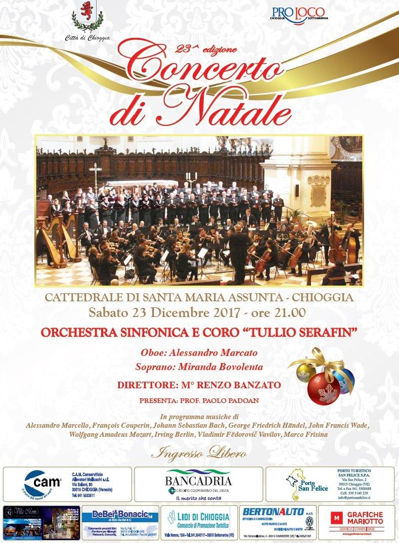 Concerto di Natale Orchestra Tullio Serafin - Chioggia, 23 dicembre 2017 - Immagine