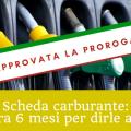 Proroga obbligo fatturazione elettronica schede carburante al 2019