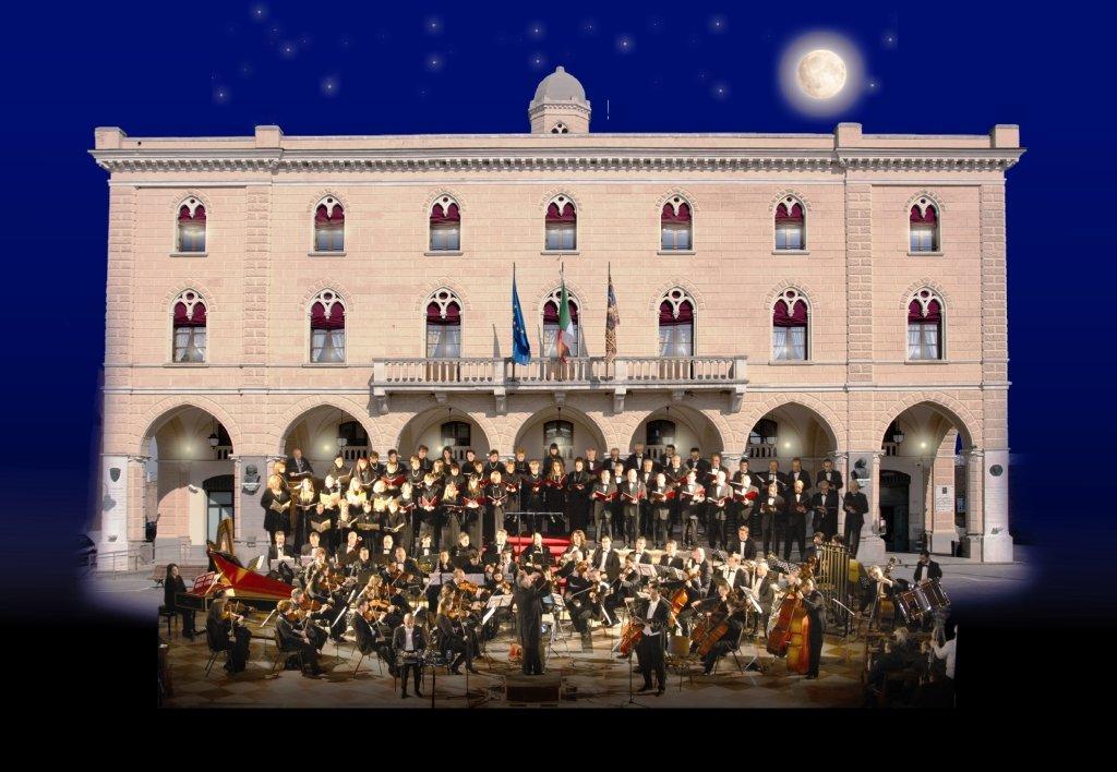 La Grande Lirica Sotto Le Stelle - 14 luglio 2018 - Cavarzere - Orchestra sinfonica e Coro Tullio Serafin 2